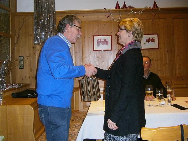 Adolf Ottl mit Rottenburg's 2. Bürgermeisterin