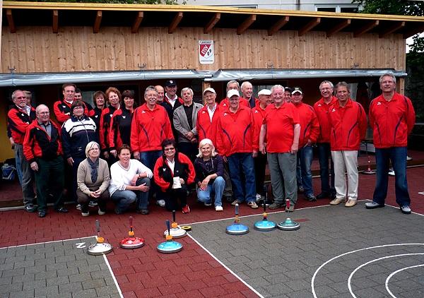 Die Rottenburger Stockschützen beim ETSV 09 Landshut