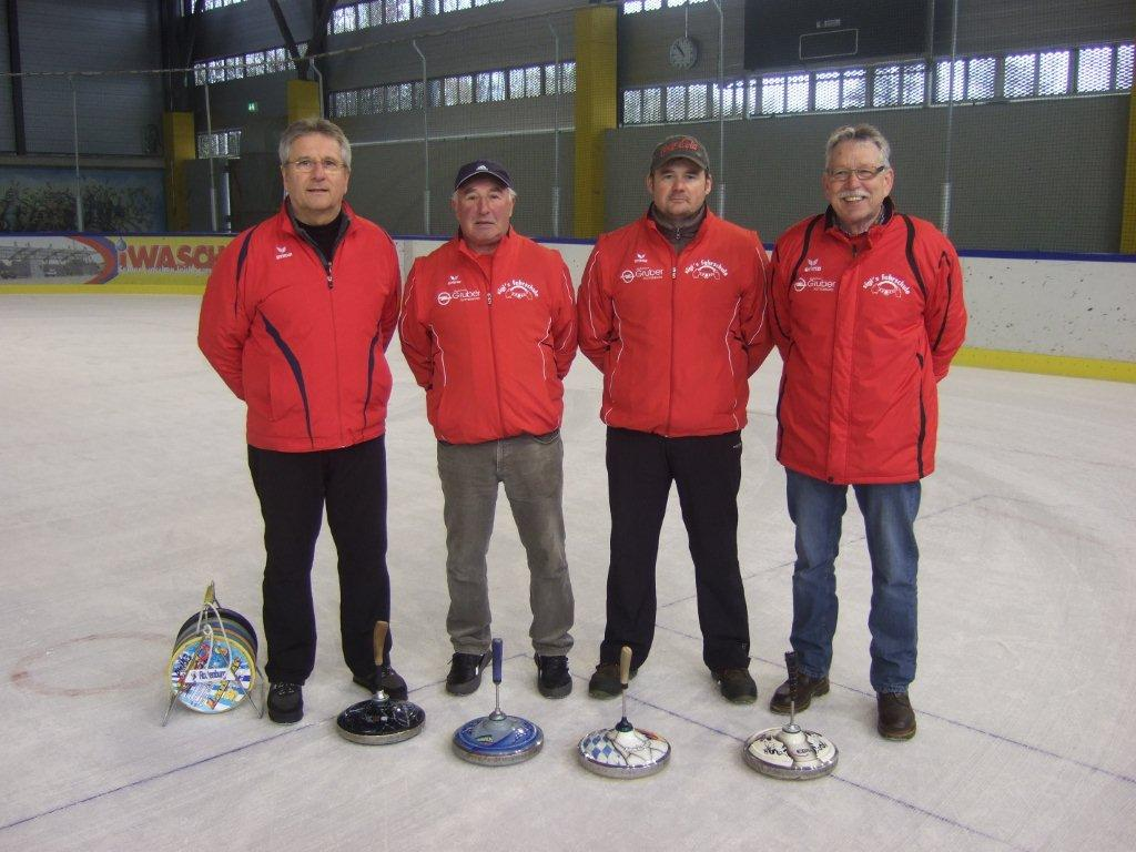 Rottenburg 1 mit Bernd Grünleitner, Lothar Oberpriller, Alfred Maier und Adolf Ottl (v.l.)